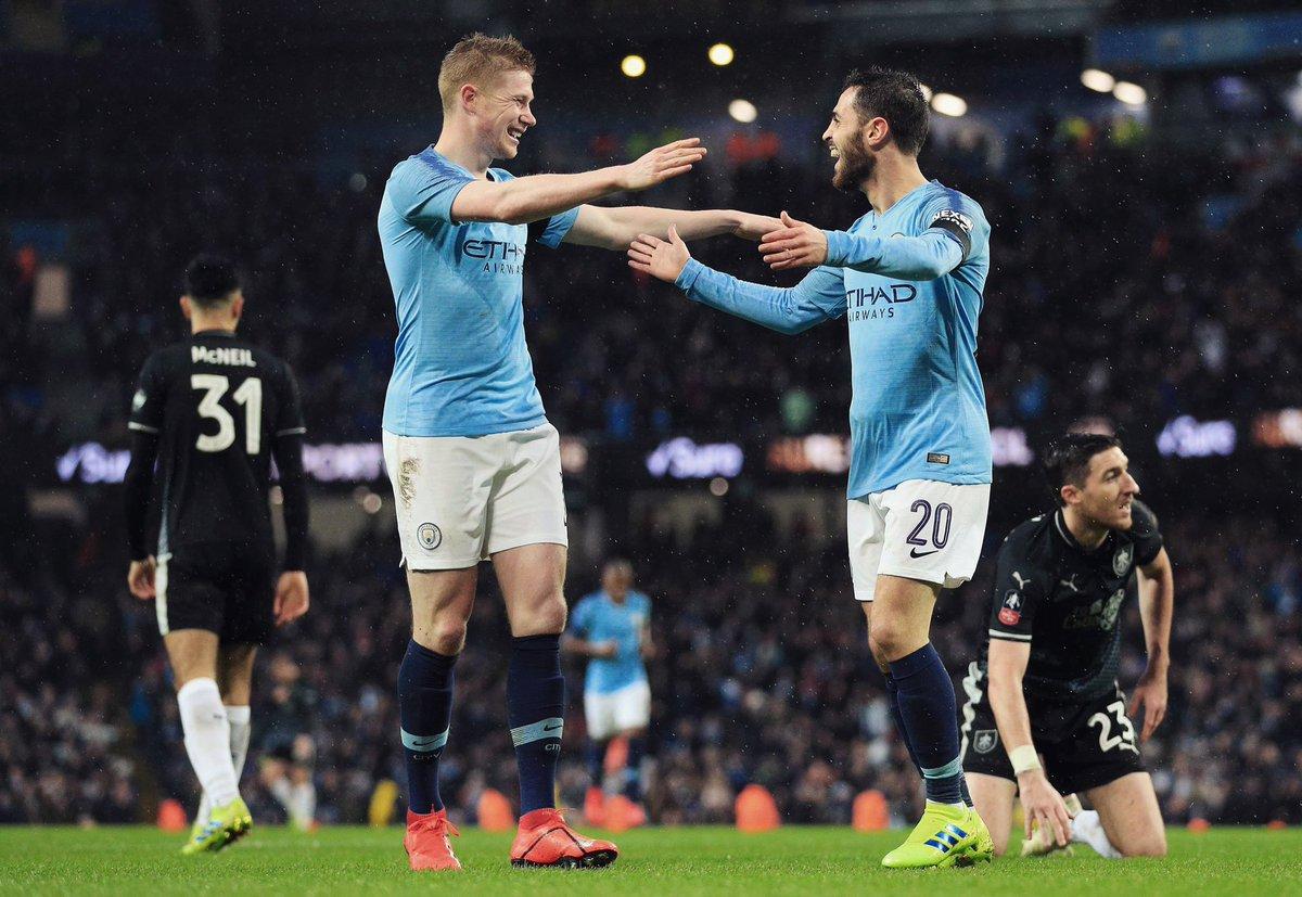 أهداف مباراة مانشستر سيتي وبيرنلي 5-0 كأس الاتحاد الإنجليزي