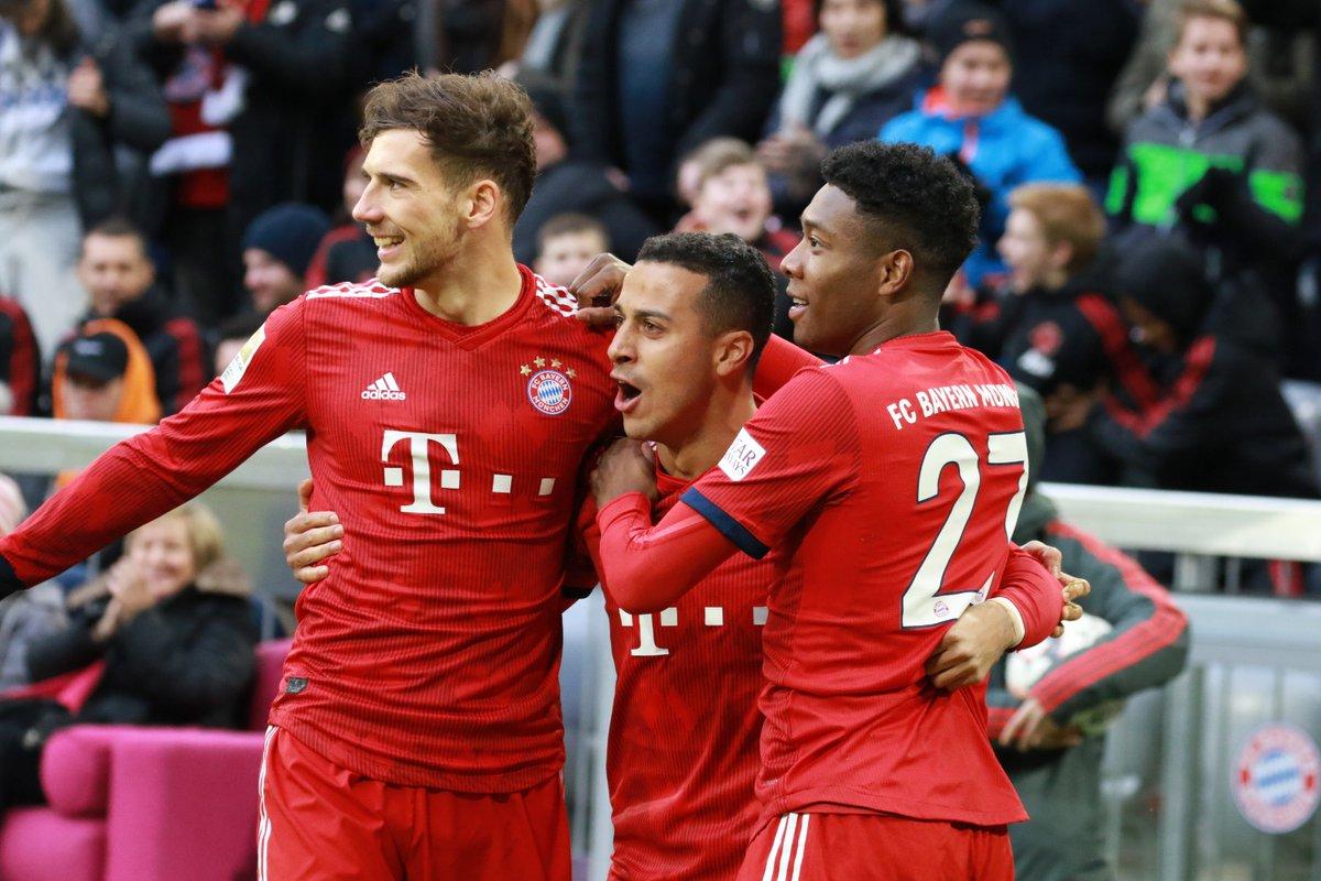 أهداف مباراة بايرن ميونخ وشتوتغارت 4-1 الدوري الألماني
