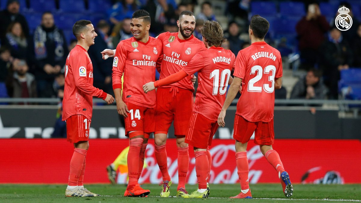 أهداف مباراة ريال مدريد وإسبانيول 4-2 الدوري الإسباني