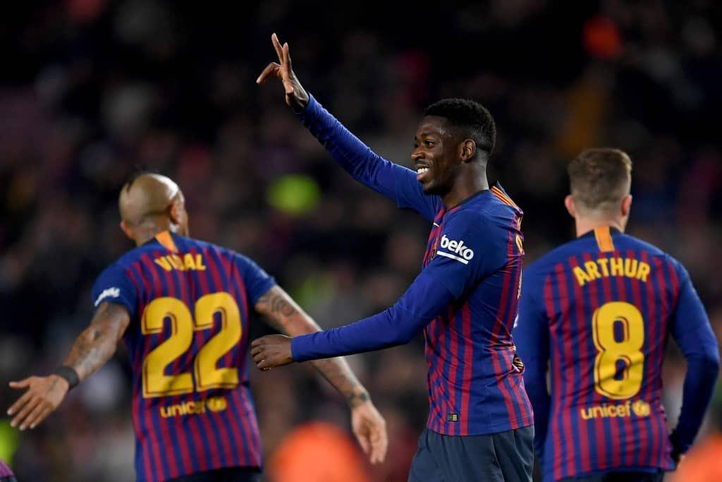 أهداف مباراة برشلونة وليفانتي 3-0 كأس ملك إٍسبانيا