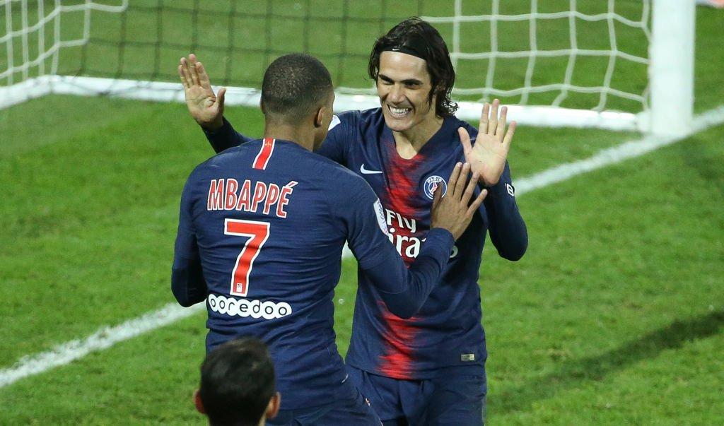 أهداف مباراة باريس سان جيرمان وجانجون 9-0 الدوري الفرنسي