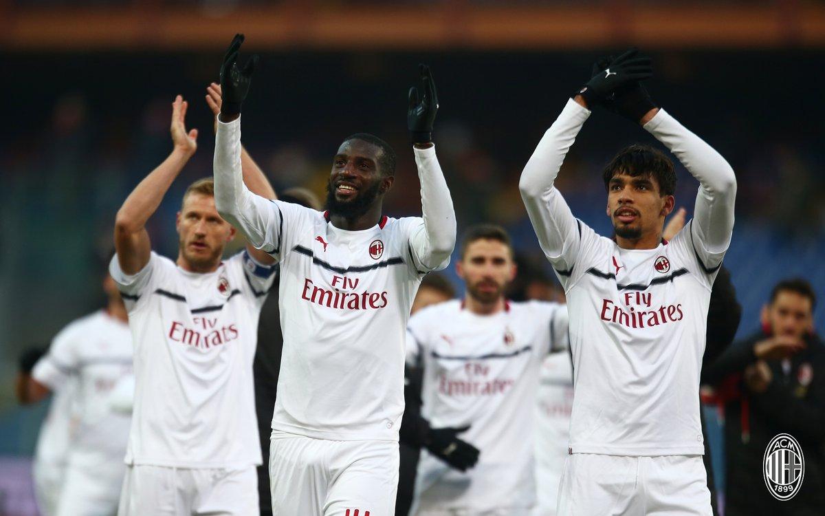 أهداف مباراة ميلان وجنوى 2-0 الدوري الإيطالي