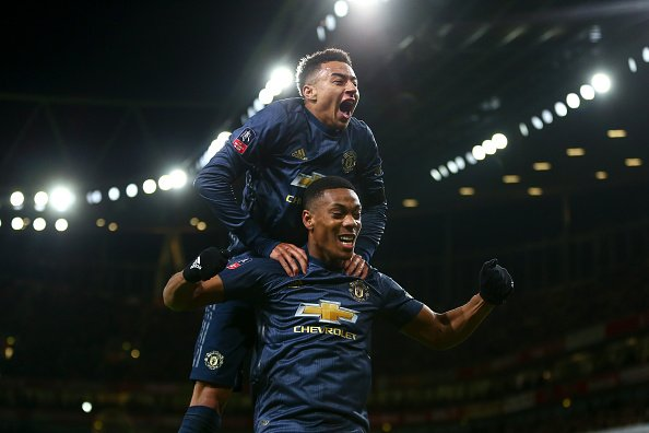 أهداف مباراة أرسنال ومانشستر يونايتد 1-3 كأس الاتحاد الإنجليزي