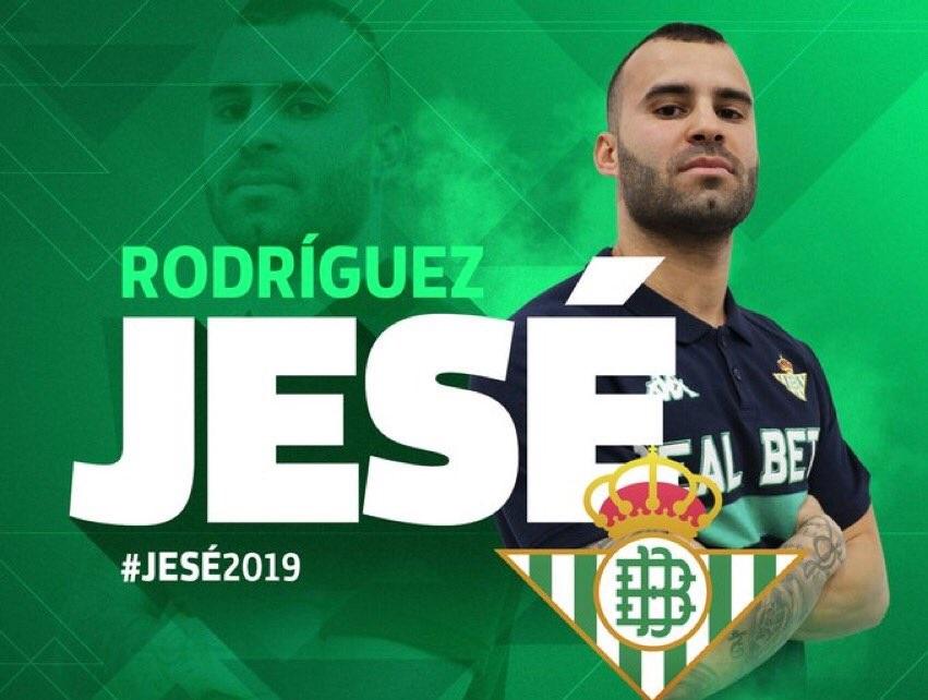 رسمياً … ريال بيتيس يتعاقد مع خيسي رودريغيز