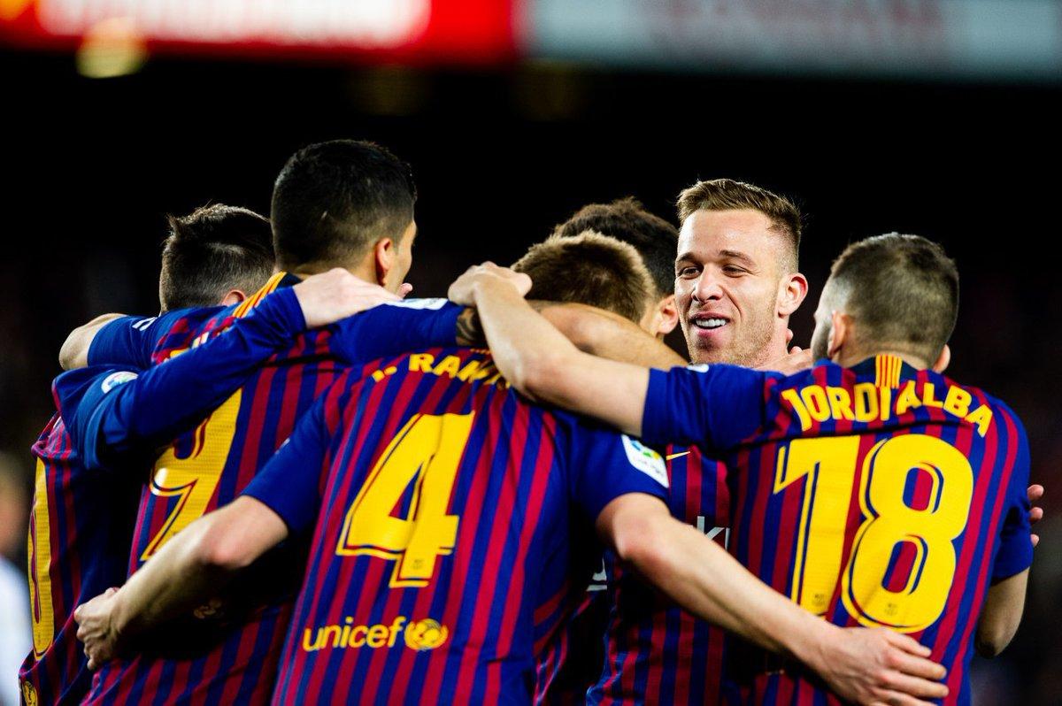 أهداف مباراة برشلونة وإشبيلية 6-1 كأس ملك إسبانيا
