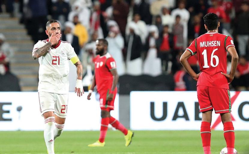 أهداف مباراة إيران وعمان 2-0 كأس أسيا 2019
