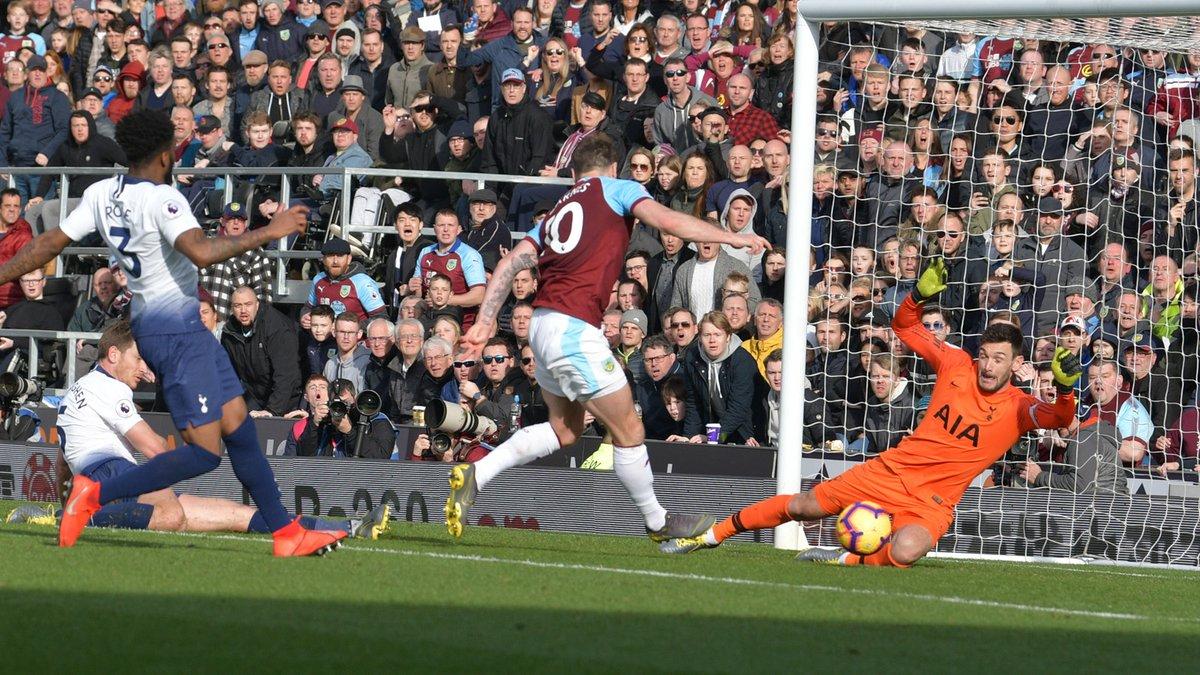 أهداف مباراة بيرنلي وتوتنهام 2-1 الدوري الإنجليزي