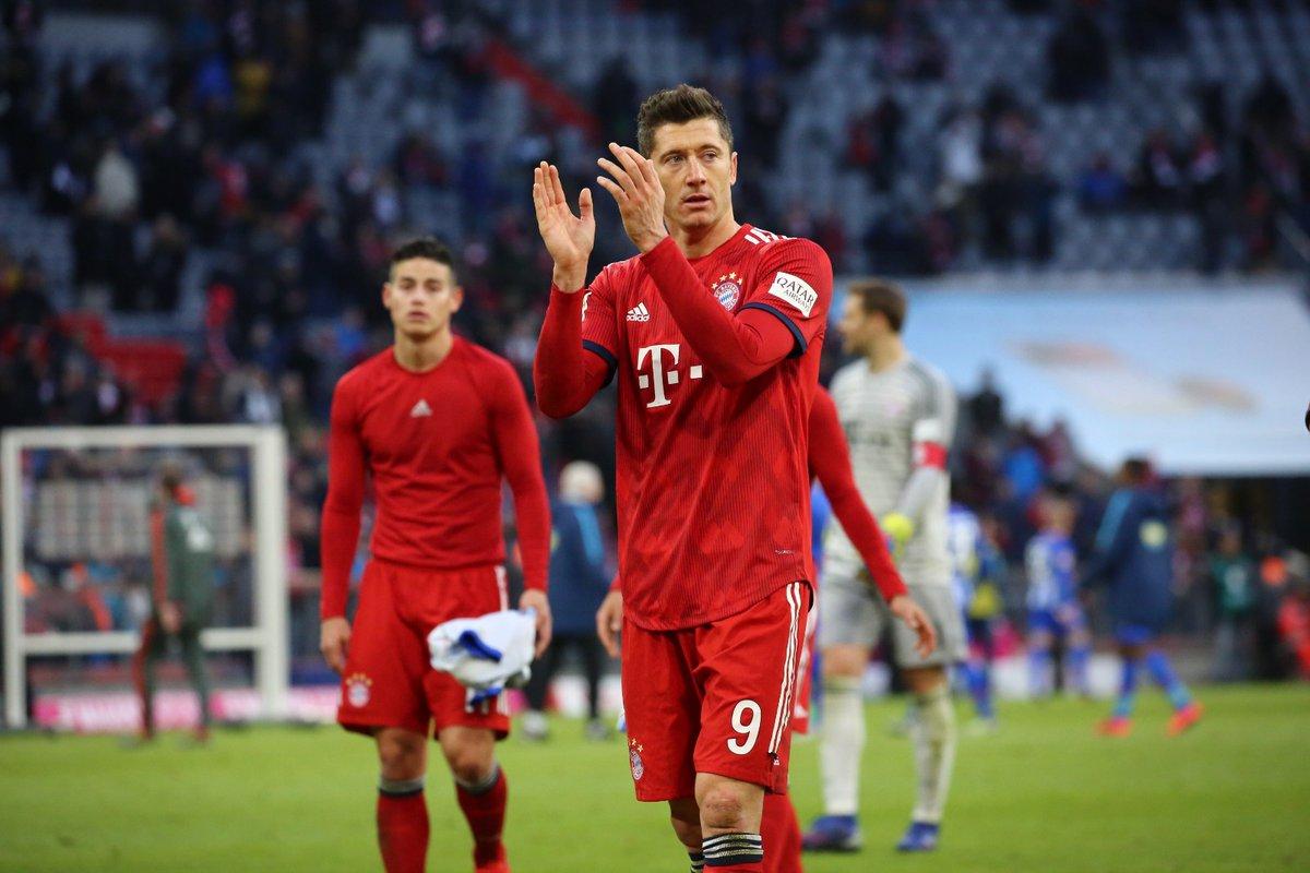 أهداف مباراة بايرن ميونخ وهيرتا برلين 1-0 الدوري الألماني