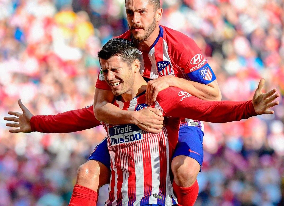 أهداف مباراة أتلتيكو مدريد وفياريال 2-0 الدوري الإسباني