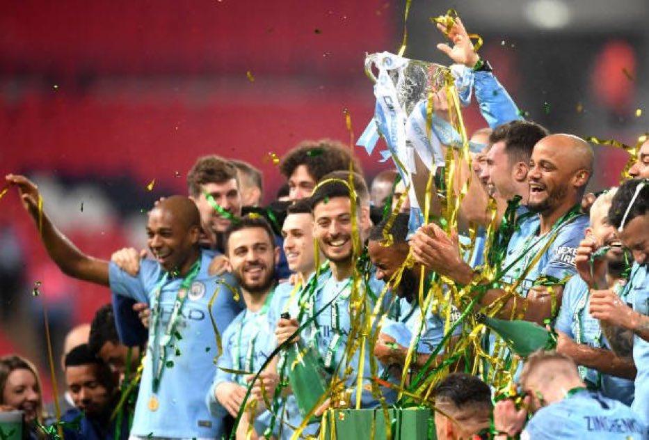 بالفيديو: مانشستر سيتي يتوج ببطولة كأس الرابطة الإنجليزية على حساب تشيلسي