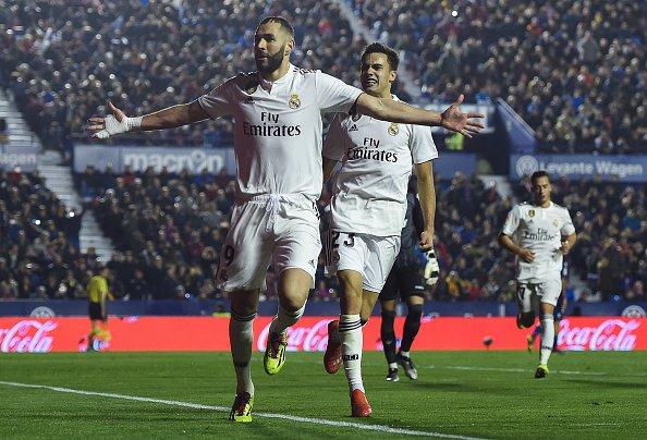 أهداف مباراة ريال مدريد وليفانتي 2-1 الدوري الإسباني