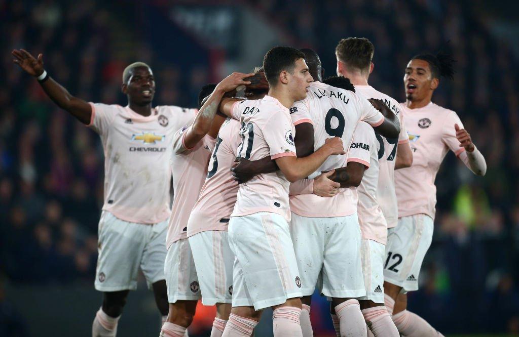أهداف مباراة مانشستر يونايتد وكريستال بالاس 3-1 الدوري الإنجليزي