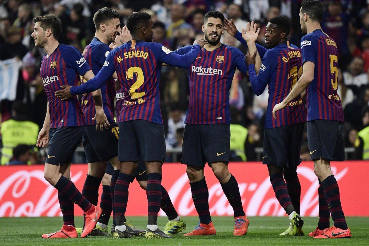 أهداف مباراة برشلونة وريال مدريد 3-0 كأس ملك إسبانيا