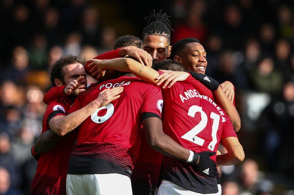 أهداف مباراة مانشستر يونايتد وفولهام 3-0 الدوري الإنجليزي