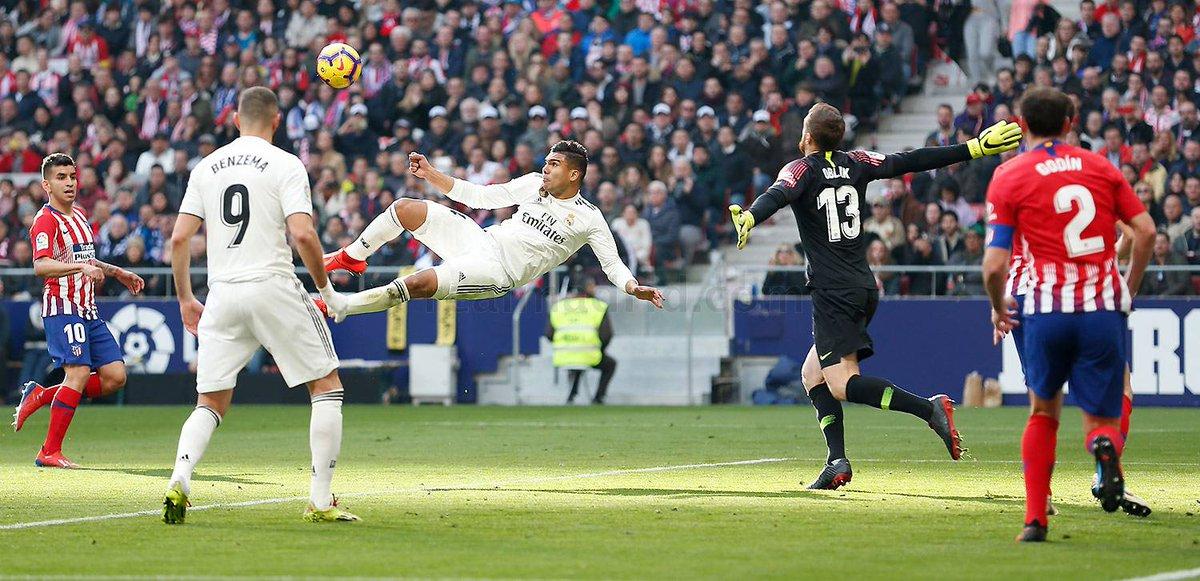 أهداف مباراة أتلتيكو مدريد وريال مدريد 1-3 الدوري الإسباني