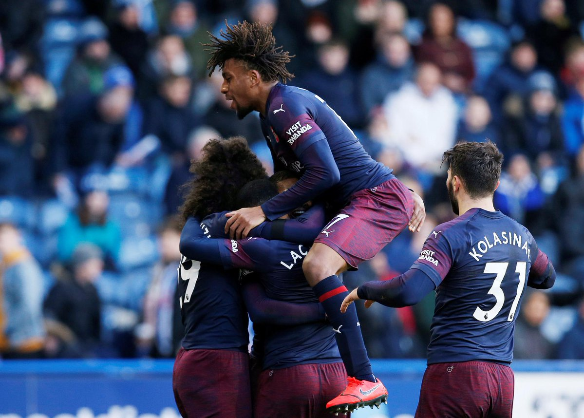أهداف مباراة أرسنال وهيديرسفيلد 2-1 الدوري الإنجليزي