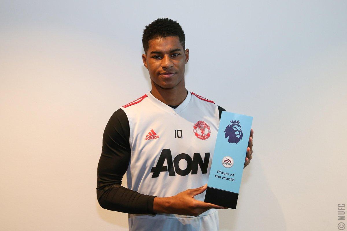 رسمياً … راشفورد الأفضل في الدوري الإنجليزي لشهر يناير