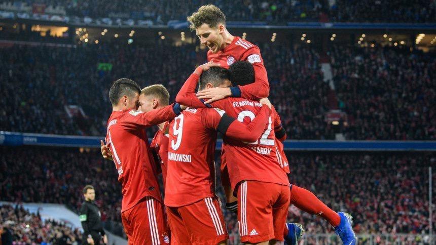 أهداف مباراة بايرن ميونخ وشالكة 3-1 الدوري الألماني