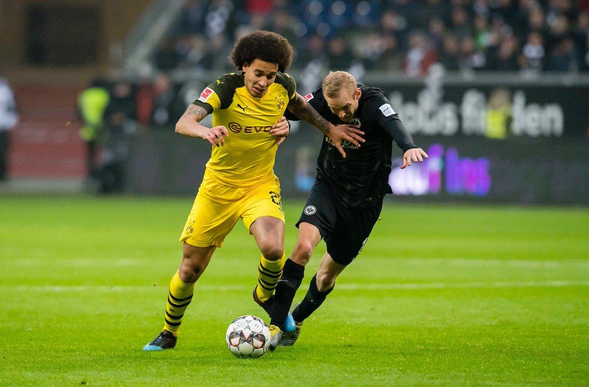 أهداف مباراة فرانكفورت وبروسيا دورتموند 1-1 الدوري الألماني
