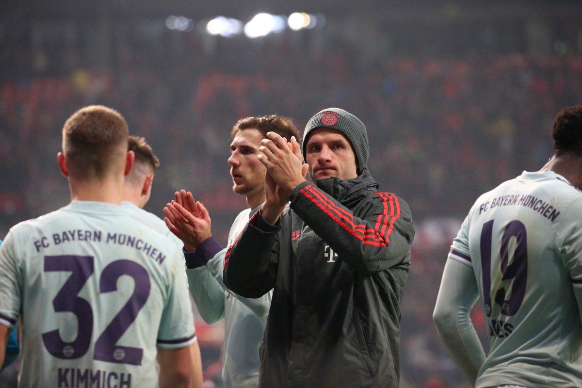 أهداف مباراة ليفركوزن وبايرن ميونخ 3-1 الدوري الألماني