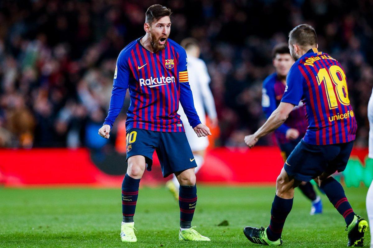 أهداف مباراة برشلونة وفالنسيا 2-2 الدوري الإسباني
