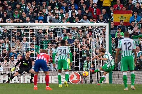 أهداف مباراة ريال بيتيس وأتلتيكو مدريد 1-0 الدوري الإسباني