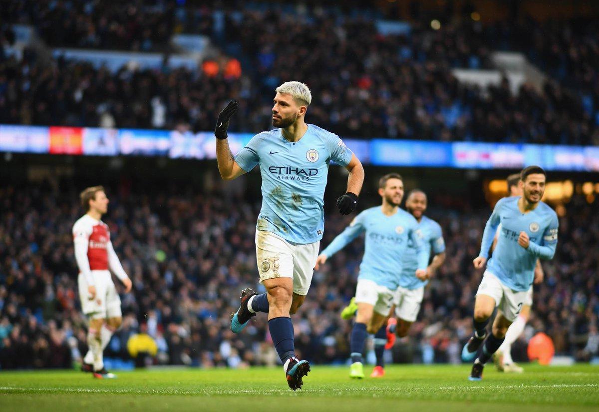 أهداف مباراة مانشستر سيتي وأرسنال 3-1 الدوري الإنجليزي