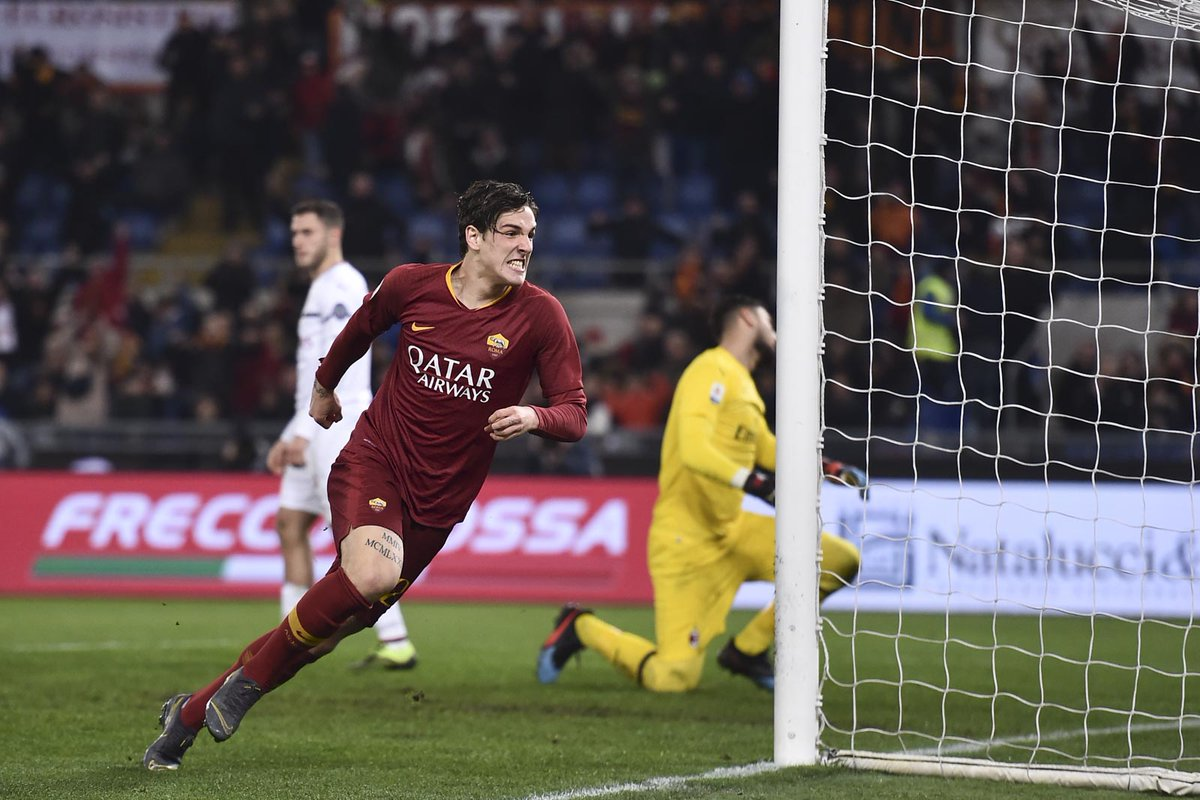 أهداف مباراة روما وميلان 1-1 الدوري الإيطالي