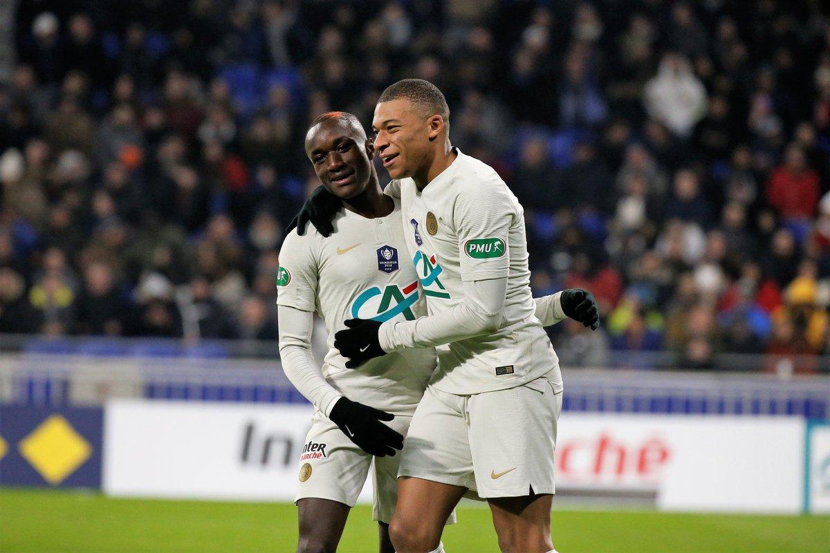 أهداف مباراة باريس سان جيرمان وكان 2-1 الدوري الفرنسي