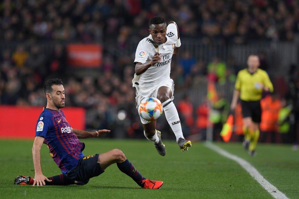 أهداف مباراة برشلونة وريال مدريد 1-1 كأس ملك إسبانيا