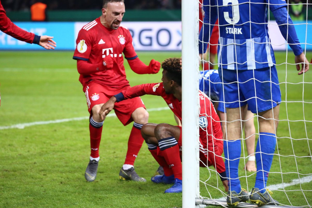 أهداف مباراة بايرن ميونخ وهيرتا برلين 3-2 كأس ألمانيا