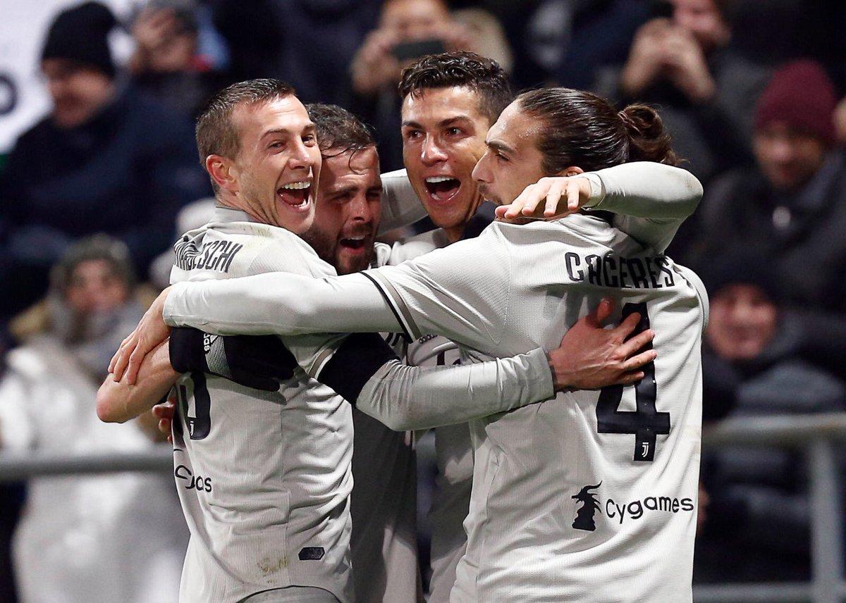 أهداف مباراة يوفنتوس وساسولو 3-0 الدوري الإيطالي