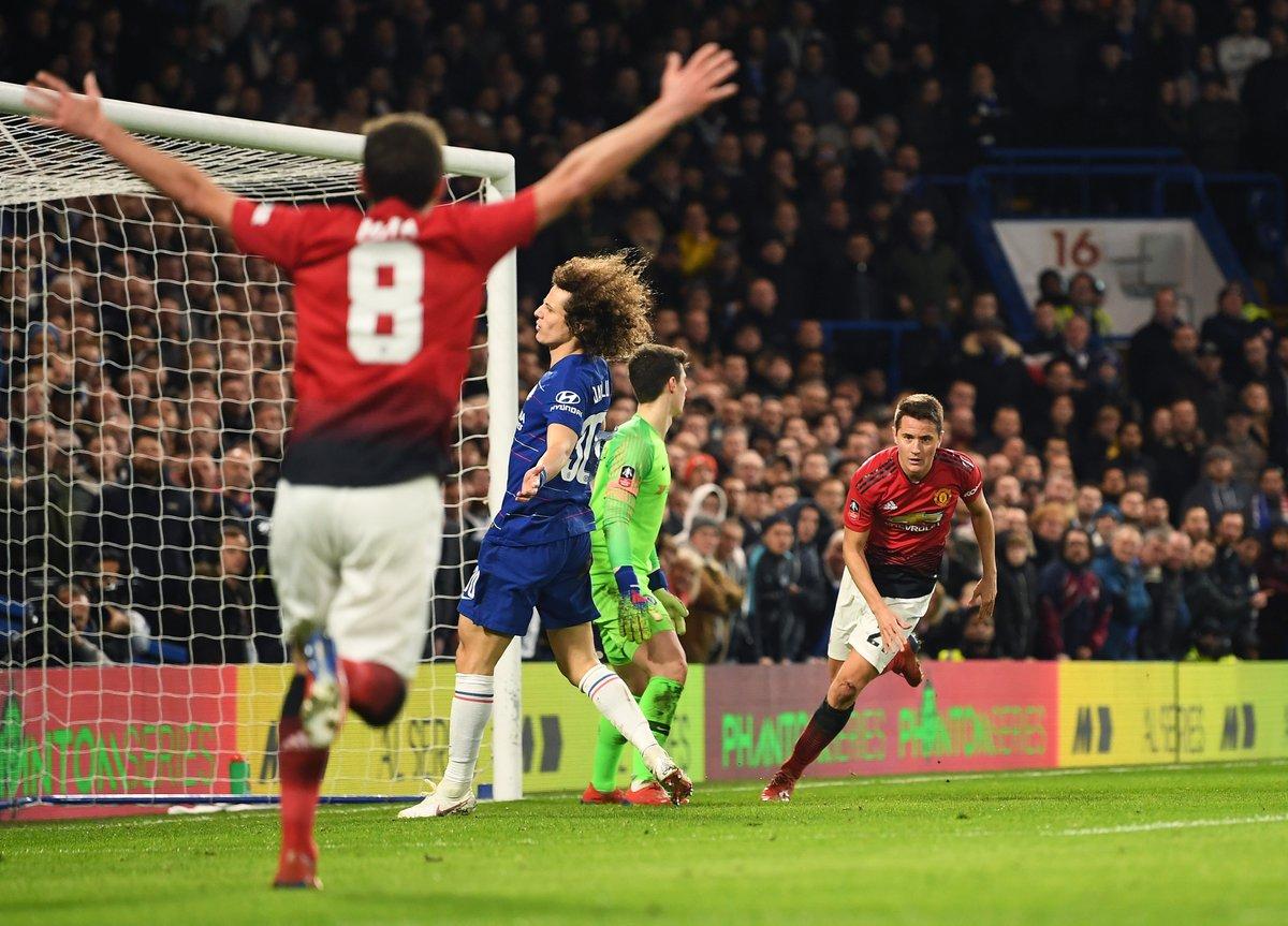 أهداف مباراة تشيلسي ومانشستر يونايتد 0-2 كأس الاتحاد الإنجليزي