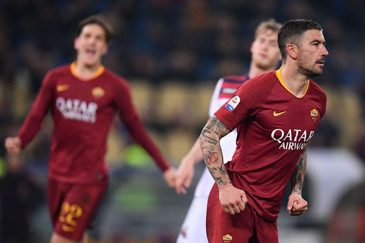 أهداف مباراة روما وبولونيا 2-1 الدوري الإيطالي