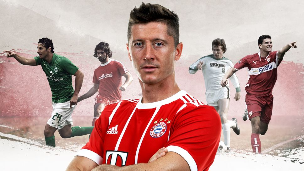 تعرف على أفضل 5 هدافين في تاريخ الدوري الألماني
