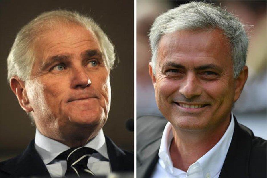رئيس ريال مدريد السابق يفجرها … مورينيو هو المدرب الجديد للنادي الملكي