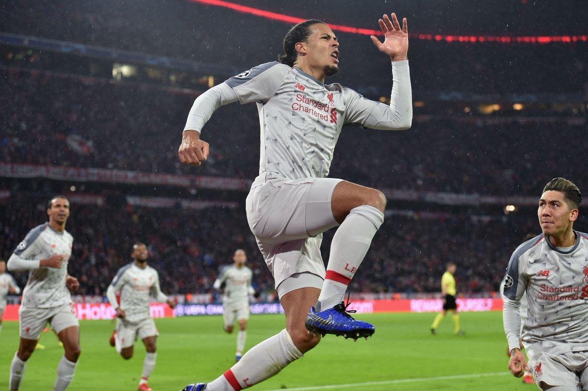 ليفربول يهزم بايرن ميونخ ويقصيه من دوري الأبطال
