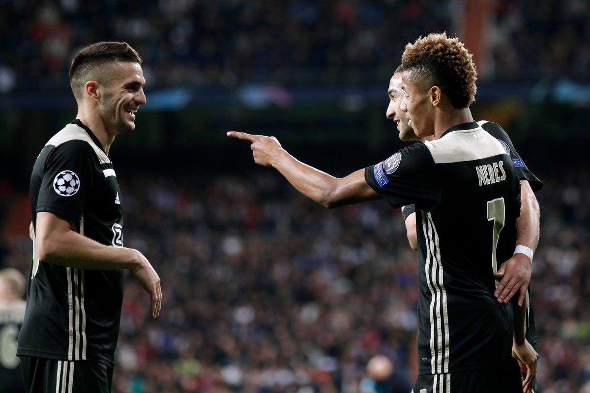 أياكس يحقق المفاجأة ويقصي ريال مدريد من دوري الأبطال