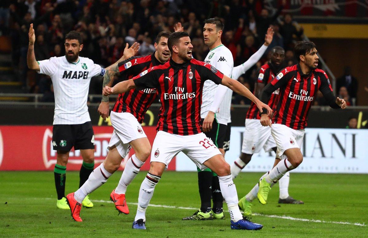 أهداف مباراة ميلان وساسولو 1-0 الدوري الإيطالي