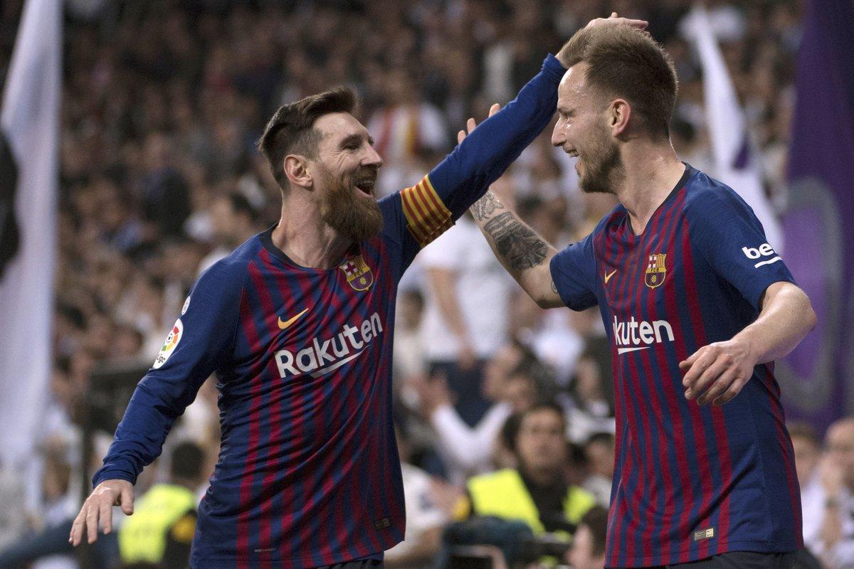 أهداف مباراة ريال مدريد وبرشلونة 0-1 الدوري الإسباني