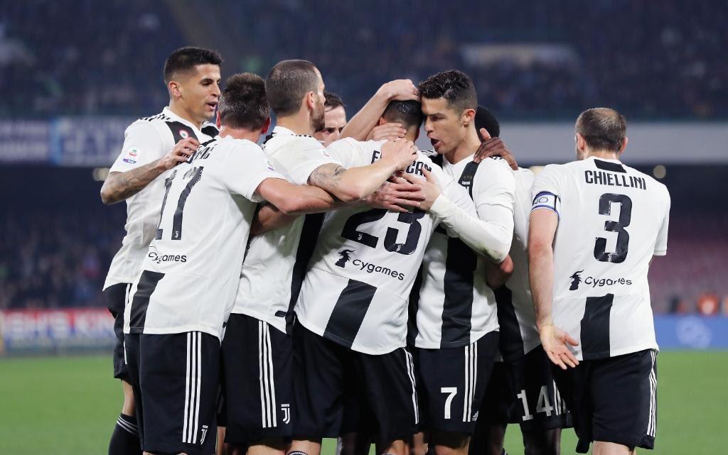 أهداف مباراة نابولي ويوفنتوس 1-2 الدوري الإيطالي