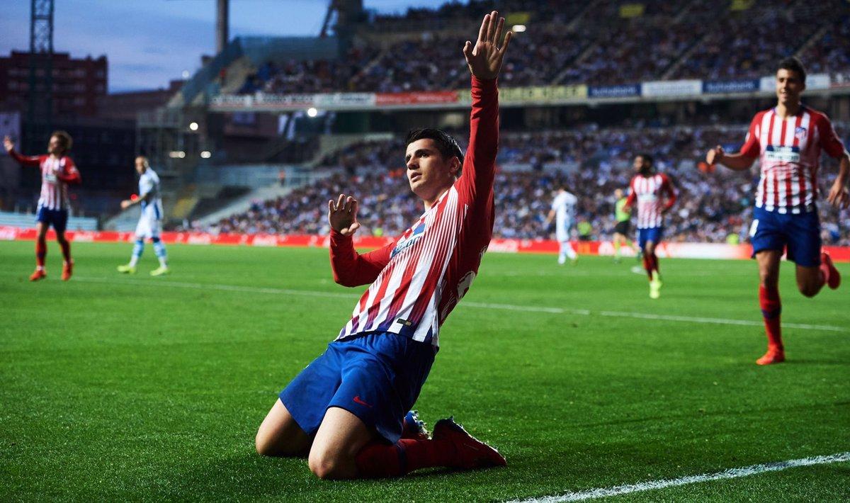 أهداف مباراة أتلتيكو مدريد وريال سوسيداد 2-0 الدوري الإسباني