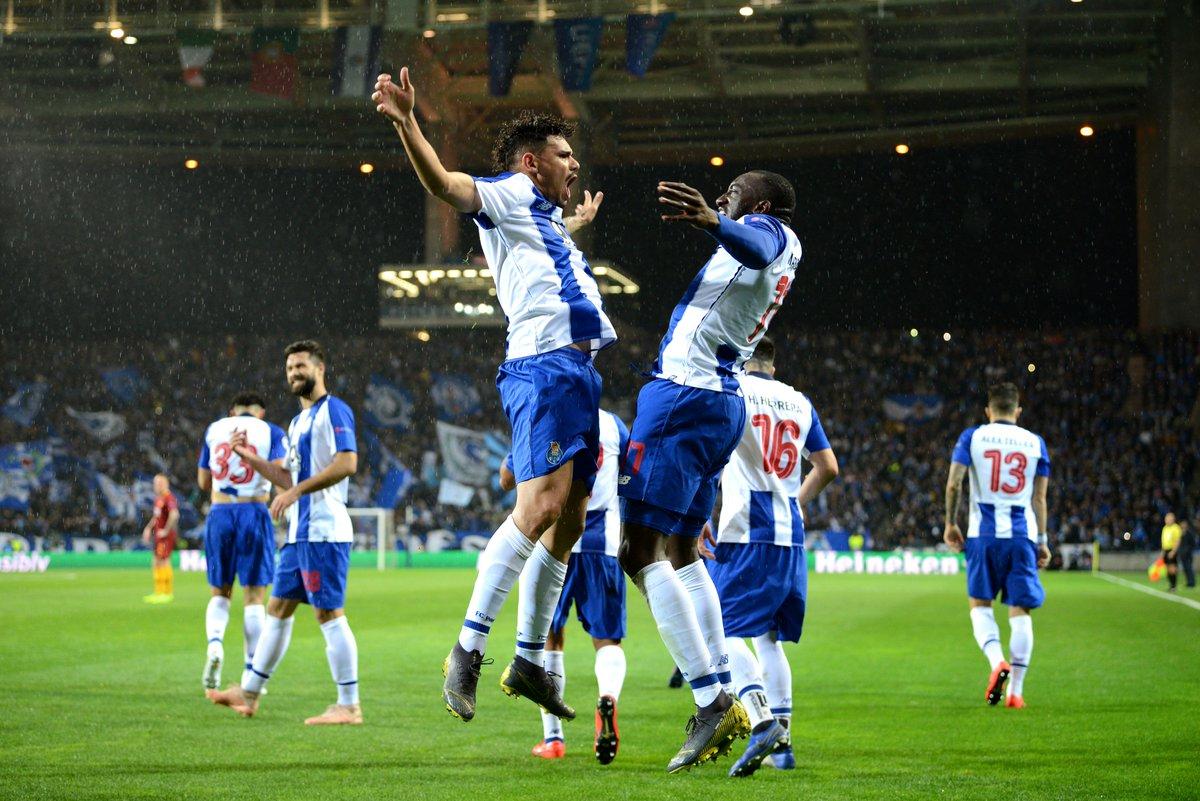 بورتو إلى ربع نهائي دوري الابطال بفوز قيصري على روما