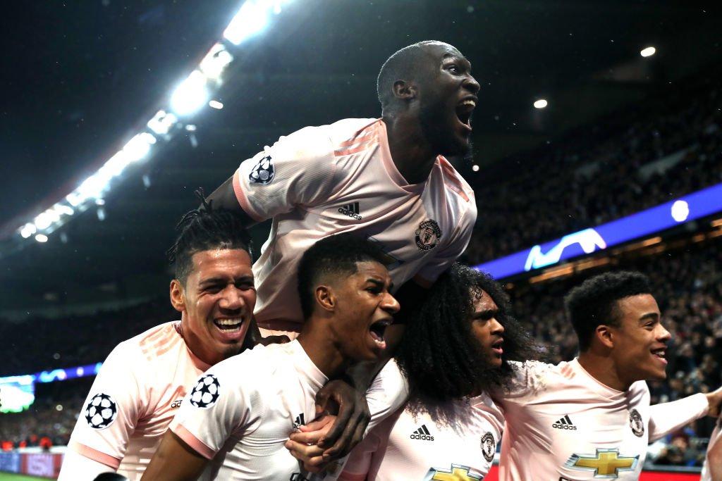 مانشستر يونايتد يحقق المفاجأة ويقصي باريس سان جيرمان من دوري الأبطال