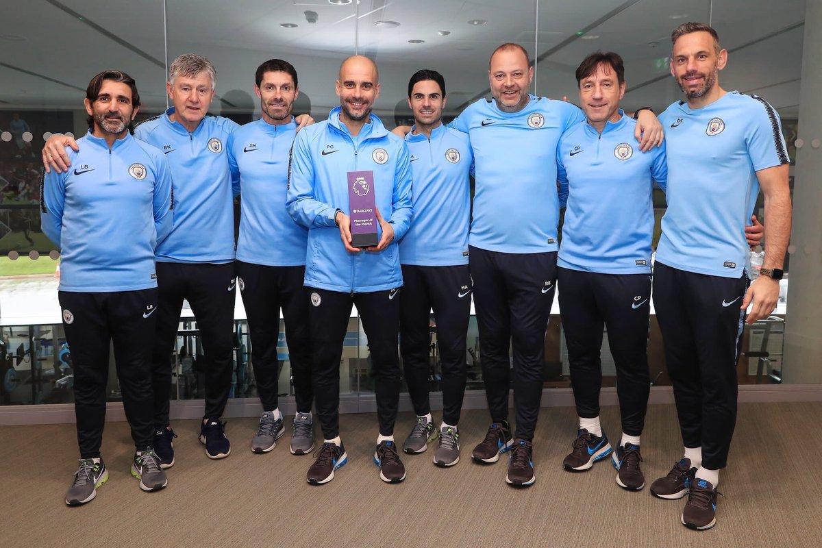 رسمياً … بيب جوارديولا مدرب الشهر في الدوري الإنجليزي
