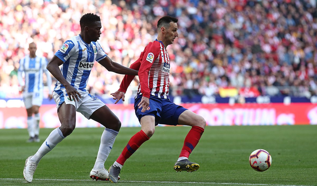 أتلتيكو مدريد يتخطى عقبة ليجانيس بصعوبة