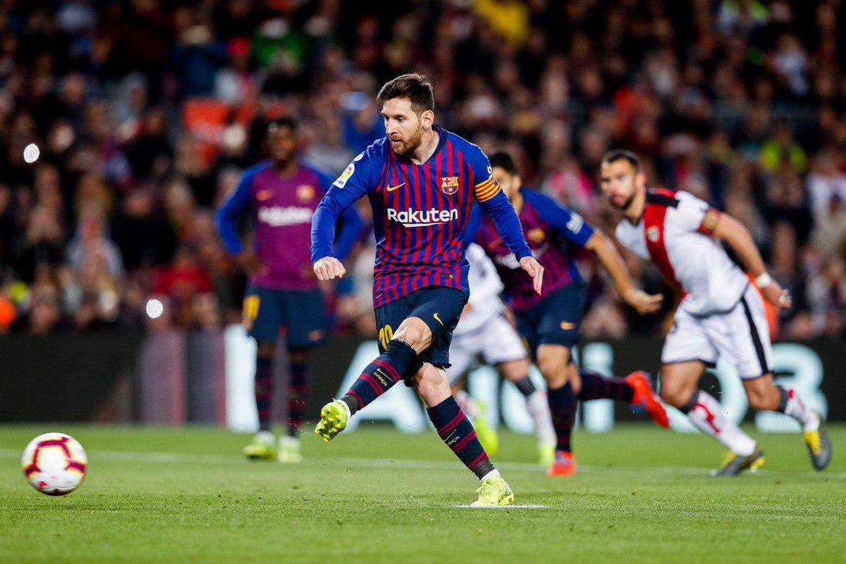 برشلونة يقترب خطوة إضافية من لقب الليغا بفوزه على رايو فاليكانو