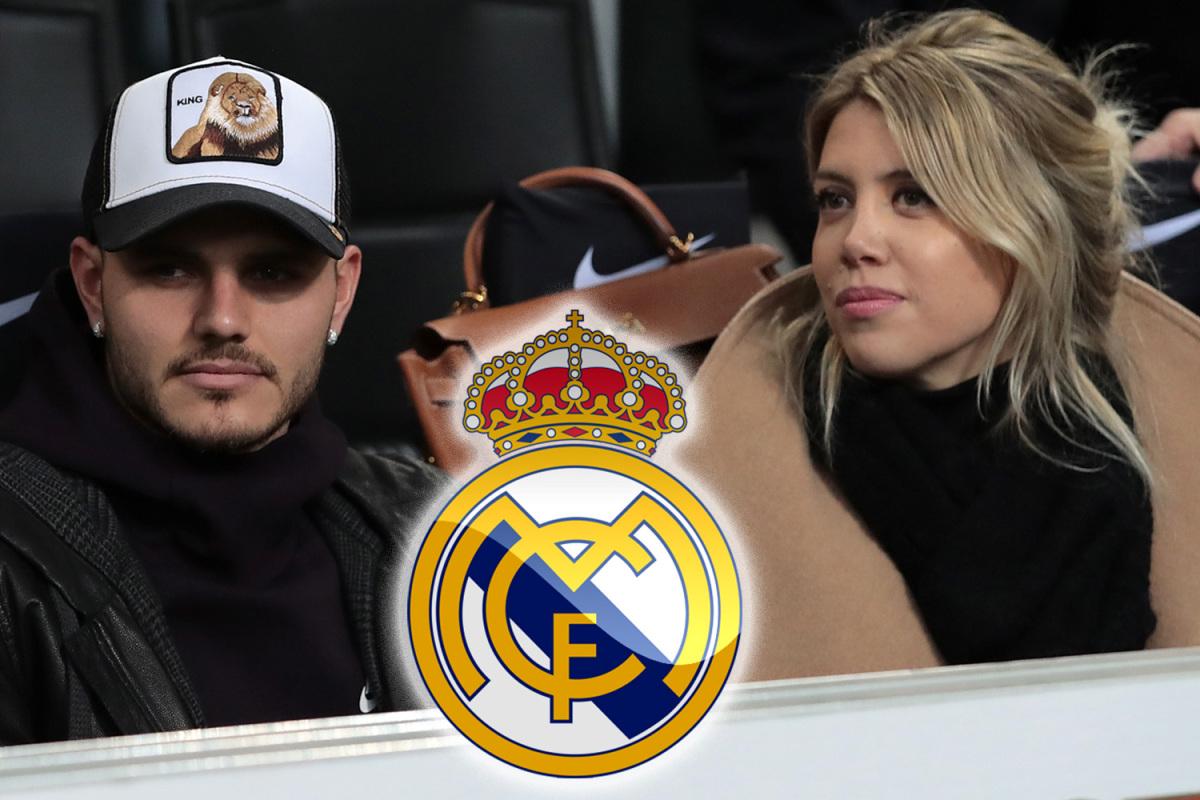 مفاجأة … زوجة إيكاردي تفتح الباب أمام ريال مدريد