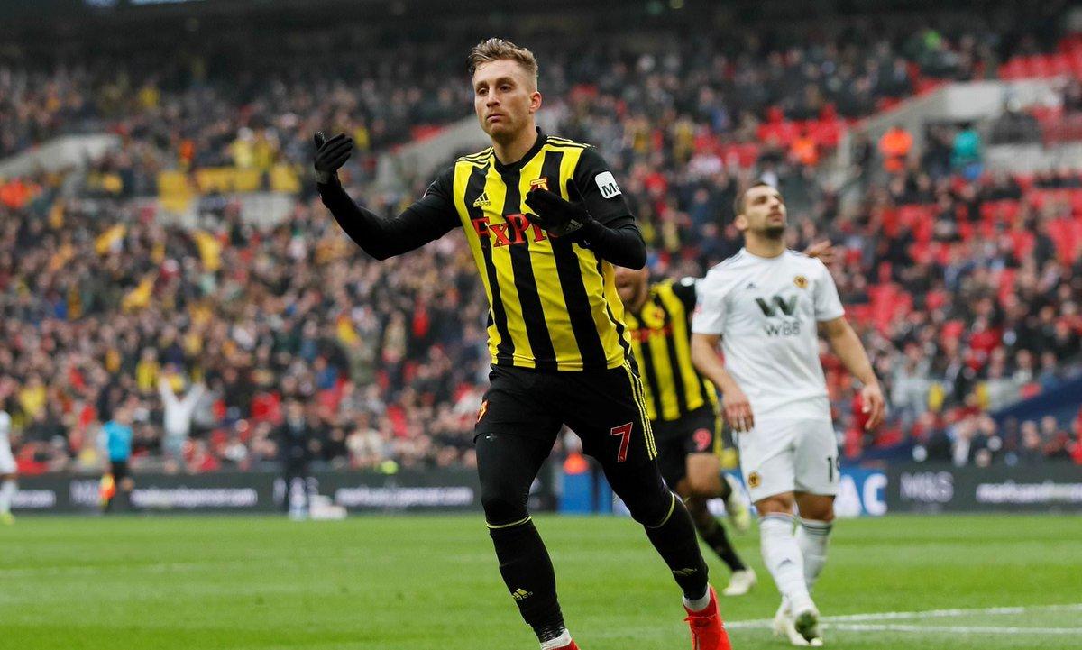 واتفورد يهزم ولفرهامبتون ليواجه مانشستر في نهائي كأس الاتحاد