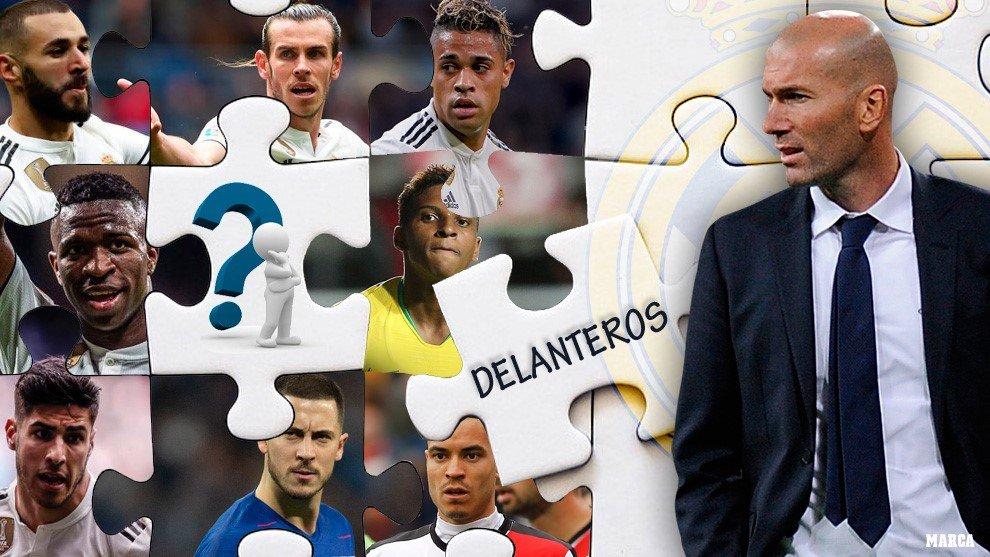صحيفة ماركا: زيدان يفتقد ريال مدريد إلى قطعة واحدة لحل أحجية الهجوم